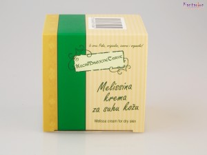 KUĆA MAGIČNE TRAVE-melissina krema za suhu kožu