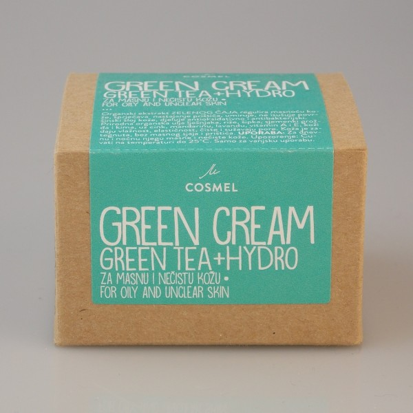GREEN TEA KREMA - COSMEL
