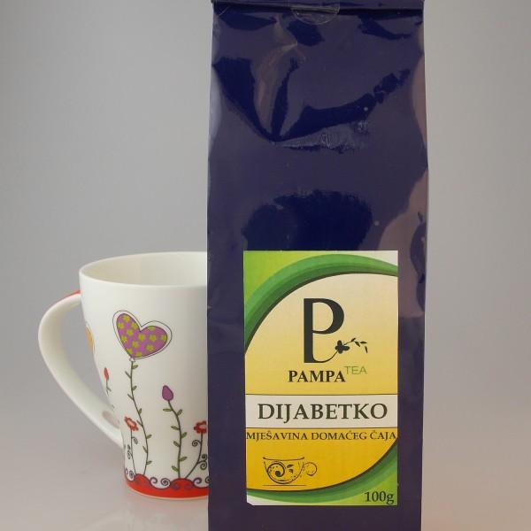 dijabetko čaj