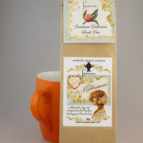 čaj manduševac samovar