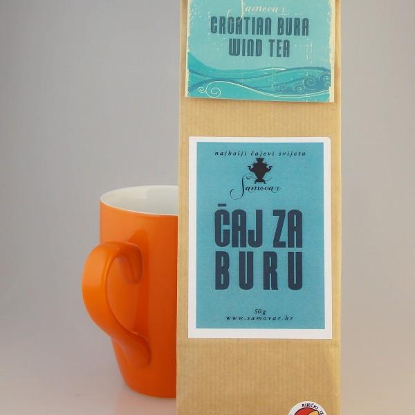 čaj za buru samovar