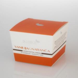 Dr Stribor - Vanilija naranča hidratantna krema