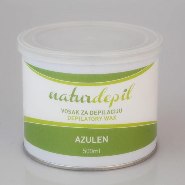 Naturdepil vosak za depiliranje Azulen