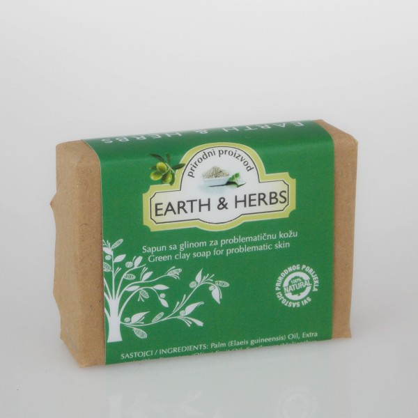 HERBAE DALMATIAE  sapun sa glinom