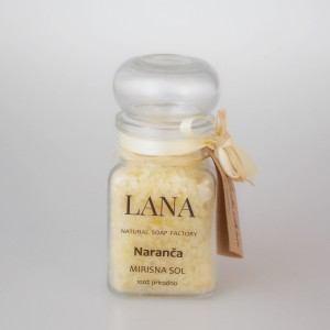 Lana sol za kupanje