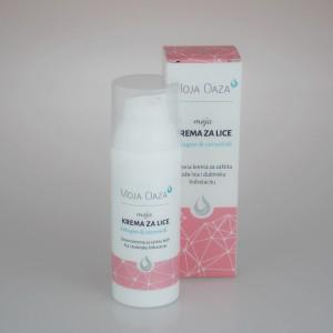 MOJA OAZA -krema za lice kolagen