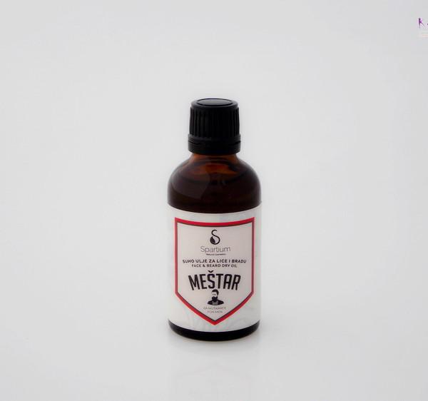 SPARTIUM MEŠTAR ulje za bradu