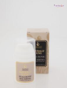 SPARTIUM NATURALLY YOUNG Hyaluronic silk krema