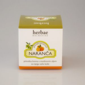 HERBAE DALMATIAE -Krema za suhu kožu naranča