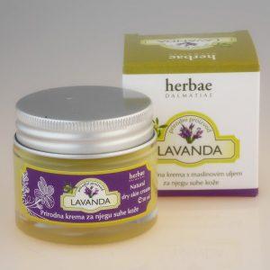 HERBAE DALMATIAE -Krema za suhu kožu lavanda