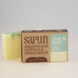 SAPUNOTEKA -sapun Život je more