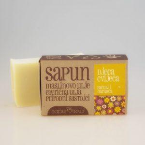 SAPUNOTEKA -sapun Djeca cvijeća