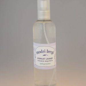MODRI BREGI -hidrolat lavanda spray 250