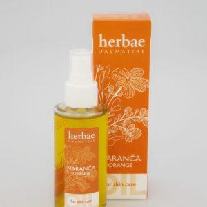 HERBAE DALMATIAE -ulje za njegu tijela naranča