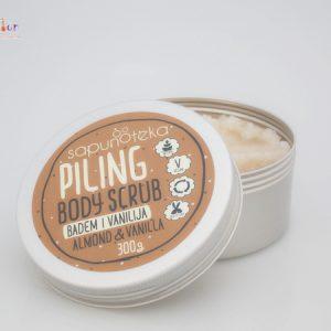 SAPUNOTEKA -piling za tijelo badem & vanilija