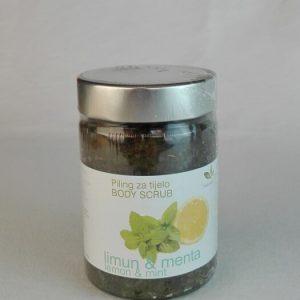 L'OR-piling za tijelo limun i menta