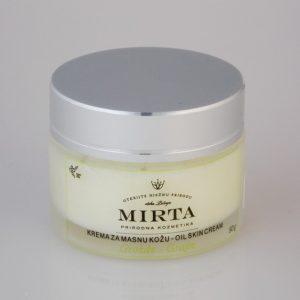 MIRTA -krema za masnu kožu grožđe