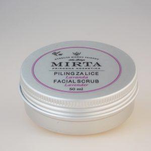 MIRTA -piling za lice lavanda