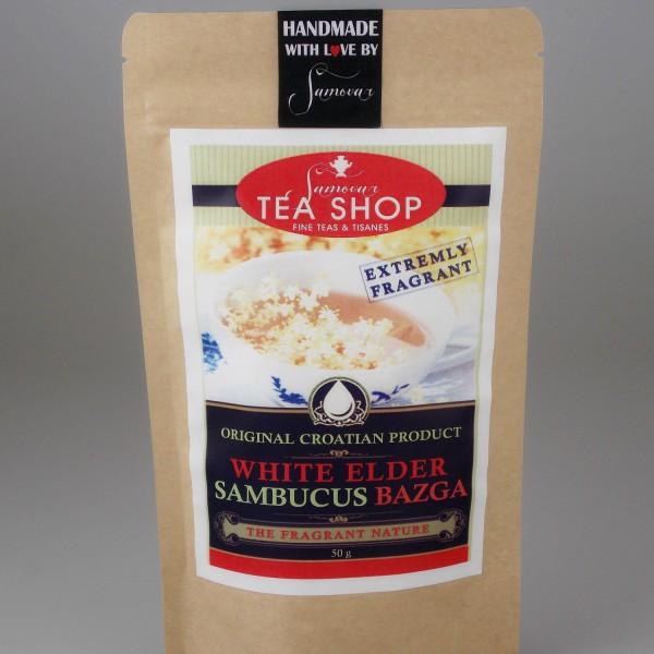 samovar čaj bijela bazga