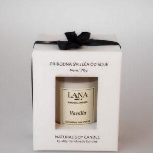LANA – svijeća od soje Vanilija