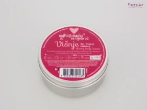 Najfiniji maslac za tijelo višnja