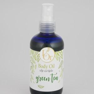 LOR ulje za tijelo Green tea