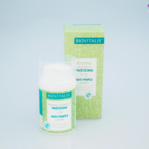 BIOVITALIS krema za kožu s prištićima