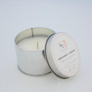 NERINA CANDLES – mirisna soja svijeća Cedarwood & Jasmine