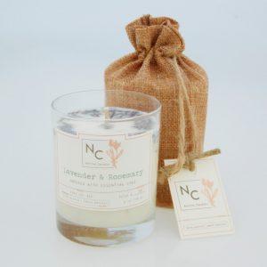 NERINA CANDLES – mirisna soja svijeća Lavender & Rosemary