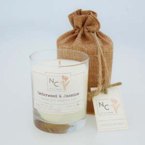NERINA CANDLES Cedarwood & Jasmine