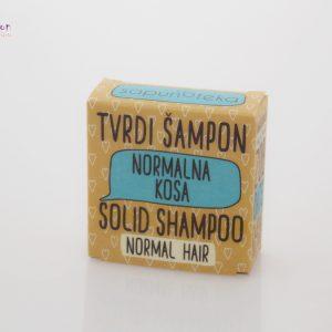 SAPUNOTEKA – tvrdi šampon za normalnu kosu