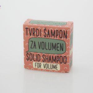 SAPUNOTEKA – tvrdi šampon za volumen i jačanje kose